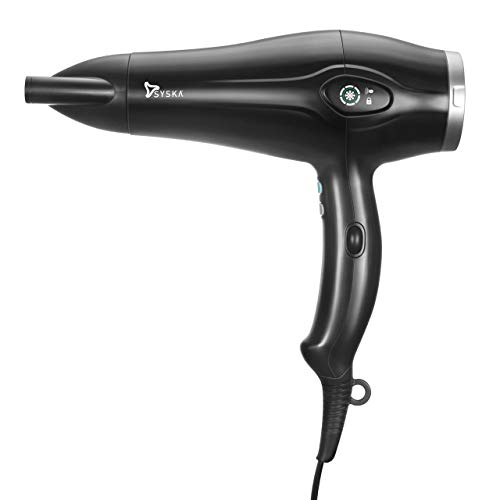 Syska Professional Series HDP 1000 Hair Dryer (Black)