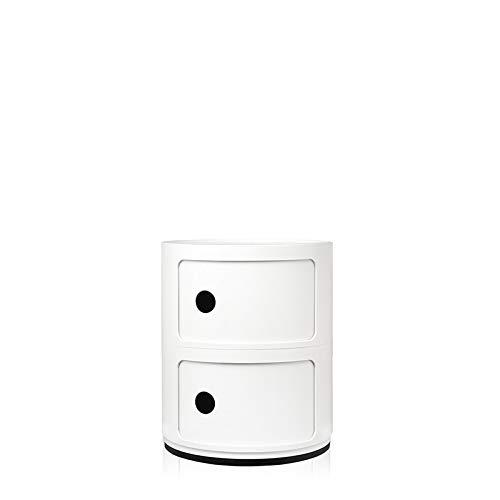 Kartell Contenitore Componibile Standard, Bianco, 32 x 32 x 40 cm