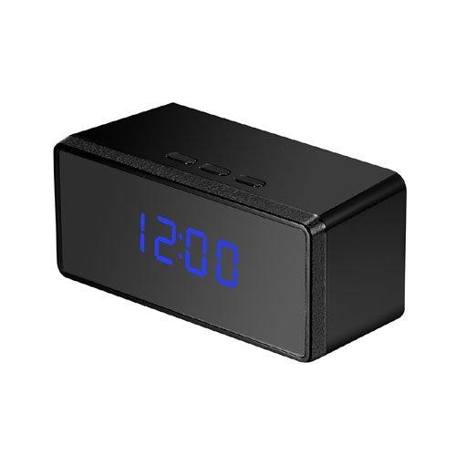 Kingdiscount Wecker mit 1080p HD-Kamera - Spycam mit Fernbedienung