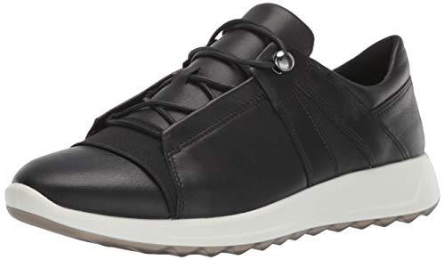 ECCO Damen Flexure Runner II Sneaker, Schwarz (Black/Black 51707), 39 EU