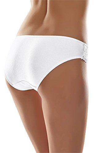 Merry Style Damen Hüftslip MSGAB56 Weiß