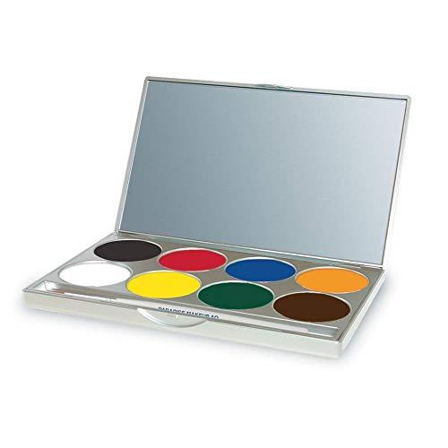 mehron Paradise Makeup AQ 8 Color Palette Basic -