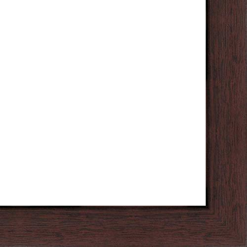 6x 9-6x 9walnuss flachen Rahmen aus massivem Holz mit UV gefräste 's Acryl und Schaumstoff Board Unterstützung-großen für ein Foto, Poster, Malerei, Dokument, oder Spiegel
