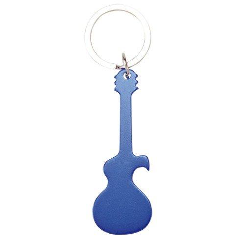 DISOK - Llavero Guitarra Abrebotellas Azul