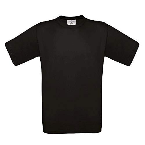 B&C - T-Shirt 'Exact 190' L,Black (C C Shirts)
