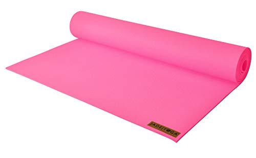 "Jade Yoga Yogamatte Professional Harmony 3/16\"" x 68\"" (5mm x 61cm x 173cm) - Pink"