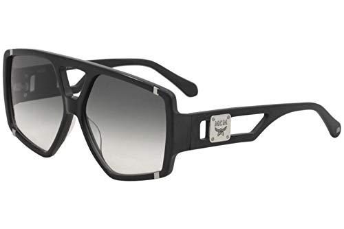MCM MCM671S MCM/671/S 001 Damen Sonnenbrille, quadratisch, 61 mm, Schwarz