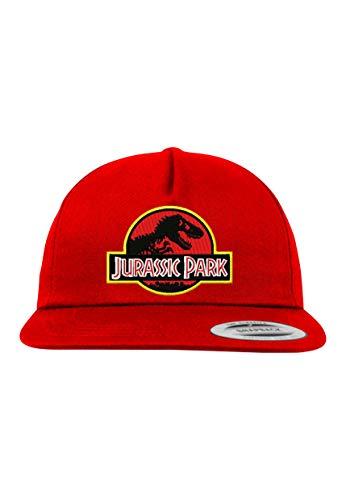 l Kinder Junior Cap Modell Jurassic T-Rex, Rot, B10b ()