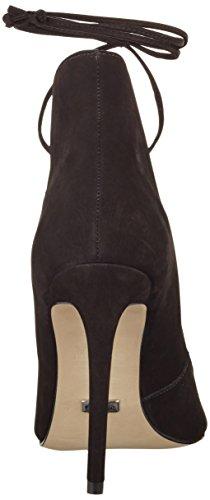 Buffalo London - Zs 6077-15 Nobuck, Scarpe col tacco Donna Nero (nero (black 01))