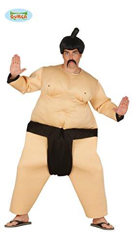 Sumoringer Sumo Kämpfer Kostüm für Herren Wrestler Ringer Japaner Chinese Asiate Herrenkostüm Gr. M/L, Größe:L (Fantasy-ringer)
