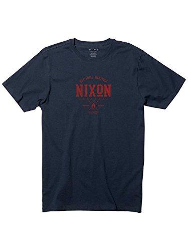 Herren T-Shirt Nixon Stern T-Shirt Navy