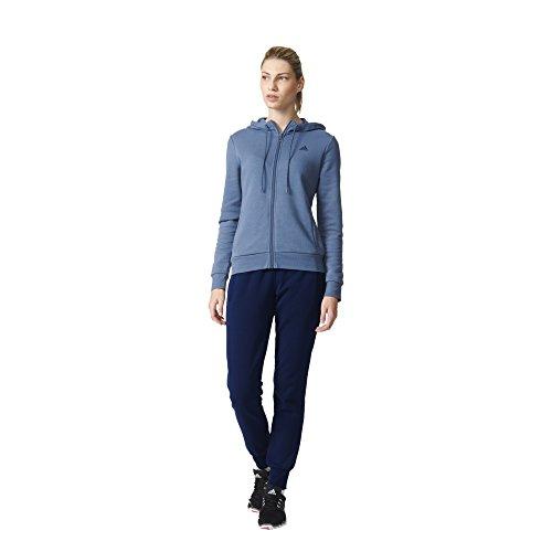 Adidas- Tuta da ginnastica da donna, colore Blu - Tecink/Conavy, taglia EU M