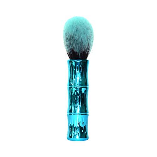 1pcs unique section de bambou peinture en poudre peinture au miel pinceau de maquillage multifonctionnel(D)
