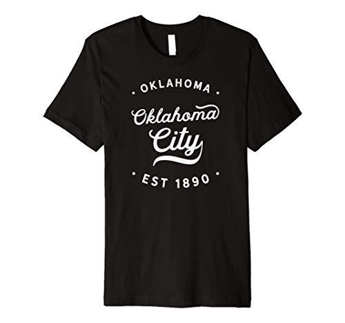 Classic Retro Vintage Oklahoma City 1890TShirt