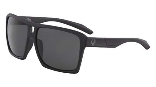 Dragon Sonnenbrille Matte Black H2O GRAY DIE VERSE 38675-002 - Für Sonnenbrille Männer H2o Dragon