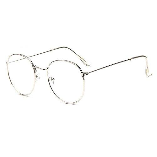 Nerd Fashion Brille Lesebrille ohne Stärke für Damen und Herren von Proco   Unisex Transparente...