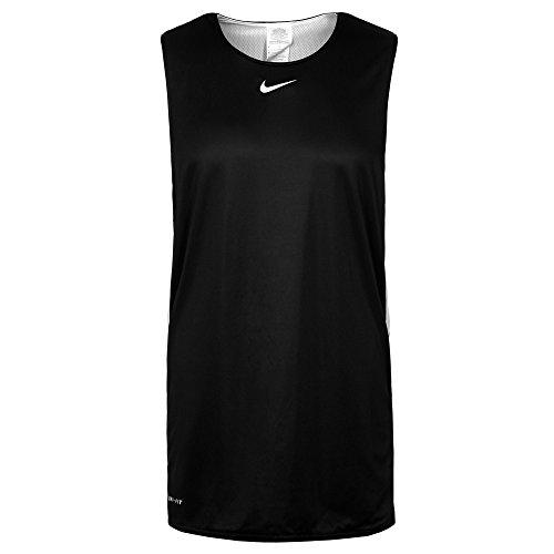 Nike Hustle–Maglietta senza maniche per uomo Black (Black/White)
