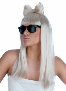 ume Kostüm, Lady Pop Diva Wig & Glasses Set, Einheitsgröße ()