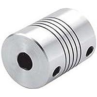25x 8mm CNC Motor Kiefer Motorwellenkupplung 5mm auf 8mm flexible Kupplung OD 20x 25mm