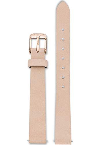 Rosefield Damen Leder Uhrenarmband 26PR-S156
