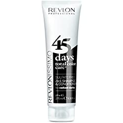 REVLON PROFESSIONAL 45 Days Radiant Darks Conditioning Shampoo, 275 ml