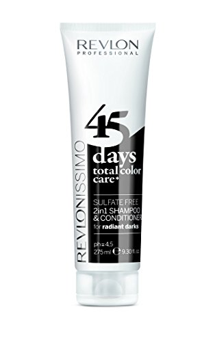 REVLON PROFESSIONAL 45 Days  Conditioning Shampoo, Radiant Darks, 1er Pack (1 x 275 ml)