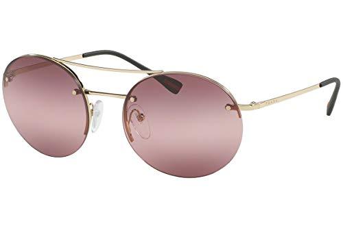 Prada Frau PS54RS Sonnenbrille w/Pink Gradient Lens ZVN6M0 SPS54R Weißgold groß