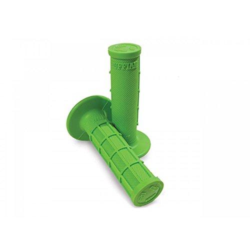 Preisvergleich Produktbild Lenkergriffe ODI Rammbock half-waffle semi-gaufré grün