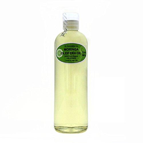 MORINGA OLEIFERA OIL BY DR.ADORABLE 100% PURE ORGANIC COLD PRESSED 12oz
