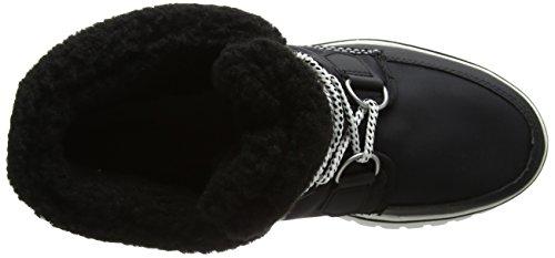 Sorel Cosy Carnival, Damen Hohe Sneakers Schwarz (nero)