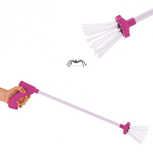 trendaffe Praktischer Spinnenfänger Spider Catcher in Pink - SpiderCatcher Spinnen Fänger Insektenfänger Käferfänger