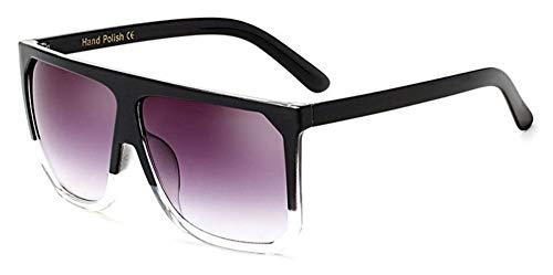 Sonnenbrille Mode In Übergröße Frauen Quadratische Sonnenbrille Designer Classic Sommer Standard Farben Flat Top Frame Brille Schwarz Klar Grau