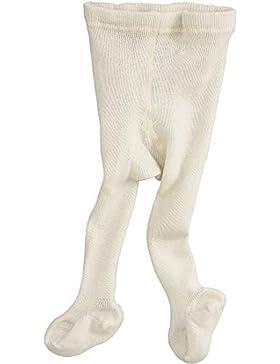 hessnatur Baby Mädchen und Jungen unisex Woll-Strumpfhose aus reiner Bio-Merinowolle