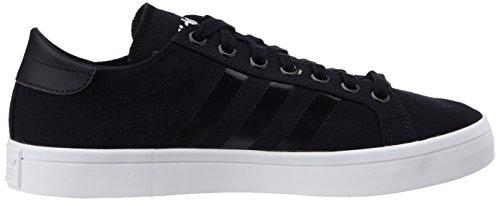 adidas Court Vantage Black Black White Noir