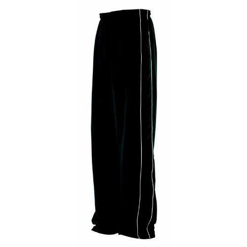 Finden & Hales enfants Canalisé Track Pant - Black/Black/White - 1314