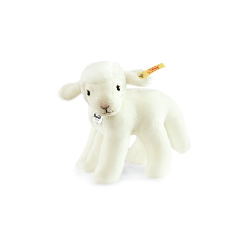 Steiff-Linda-Lamb-Plush-White