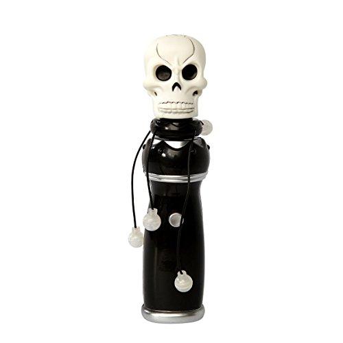Brauns-Heitmann 7036 - LED Totenkopf Deko mit Funktion (Für Halloween-kostüm Sound-effekte)