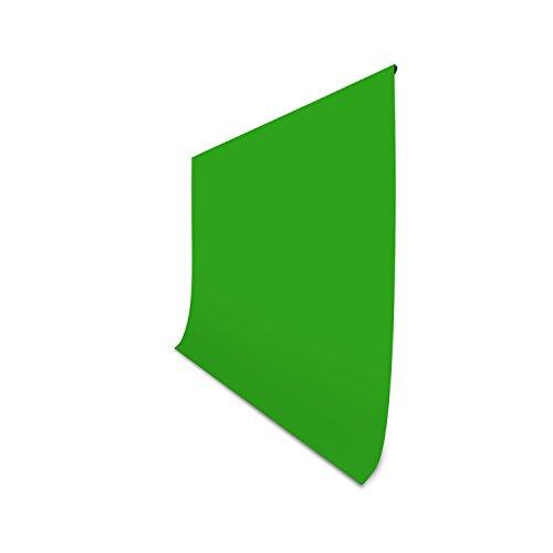 HAUSER & PICARD Stoff Hintergrund Grün, 3 x 3 m