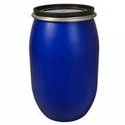 PE Spannring Deckelfass 120 Liter als Palettenfass mit UN-X/S Gefahrgutzulassung