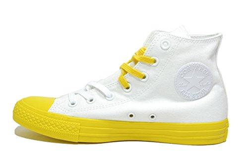 Converse 156764C Sneakers Unisex bianco giallo