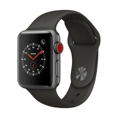Apple Watch Series 3 OLED GPS (satélite) Móvil Plata reloj inteligente - Relojes inteligentes (OLED, Pantalla táctil, GPS (satélite), Móvil, 28,7 g, Plata)