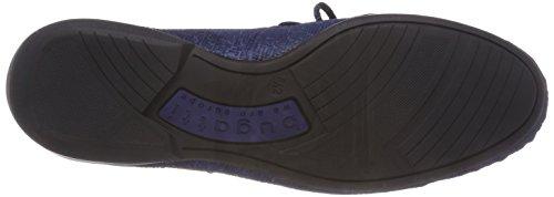 Bugatti Herren 311456601400 Mokassin Blau (Dark Blue)