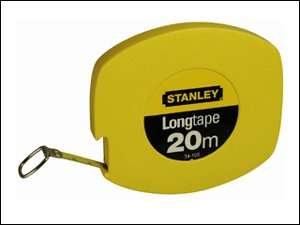 Stanley 0-34-105 Rotella Metrica Nastro Acciaio, 20 m