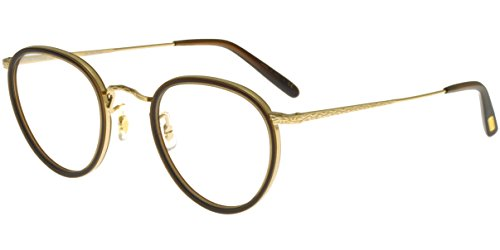 Oliver Peoples Brillen MP-2 OV 1104 WASHED DARK BROWN GOLD PLATED Herrenbrillen