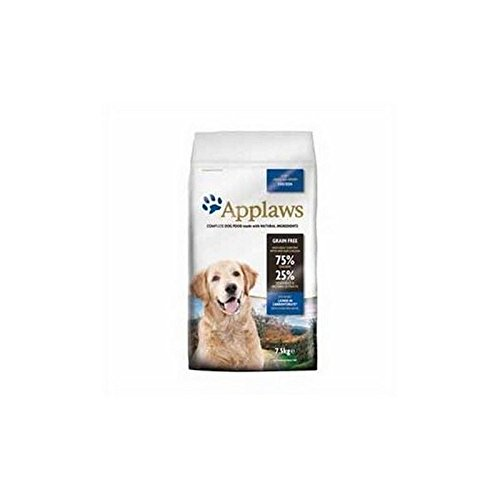 Applaws Katzenstreu Trockenfutter für Hunde alle Breed Adult Light Huhn (7,5kg (6Stück)