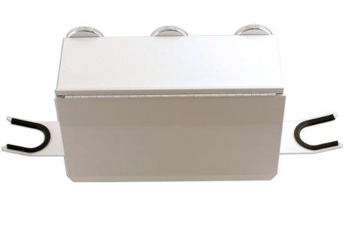 PowerTec 91438 Aufbewahrungsbox, zur Verwendung in Spritzkabinen