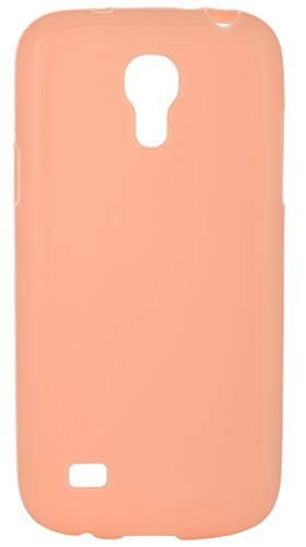 iCandy™ Colourful Thin Matte Finish Soft TPU Back Cover for Samsung Galaxy S4 Mini I9190 - Champagne