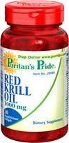 Puritan's Pride Red Krill Oil 1000 mg (30 Kapseln) - 30 Mg 30 Softgels