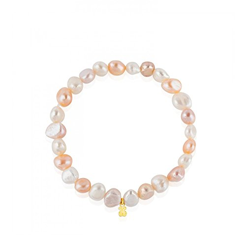 5c7ad8ce6b5a TOUS Pulsera Gold Pearls 617091011