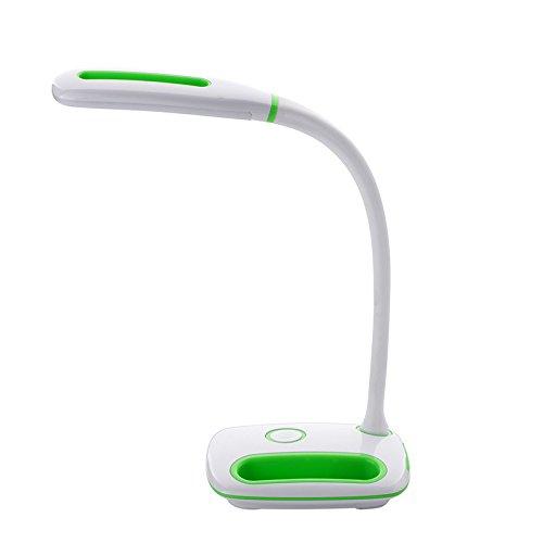 Energiesparende LED Student Augenschutz Tischlampe intelligente USB-Lade Lernen Lesen Tischlampe Schlafzimmer Nachtlicht Touch keine Strahlung Licht grün 9 * 12 * 39.5CM -
